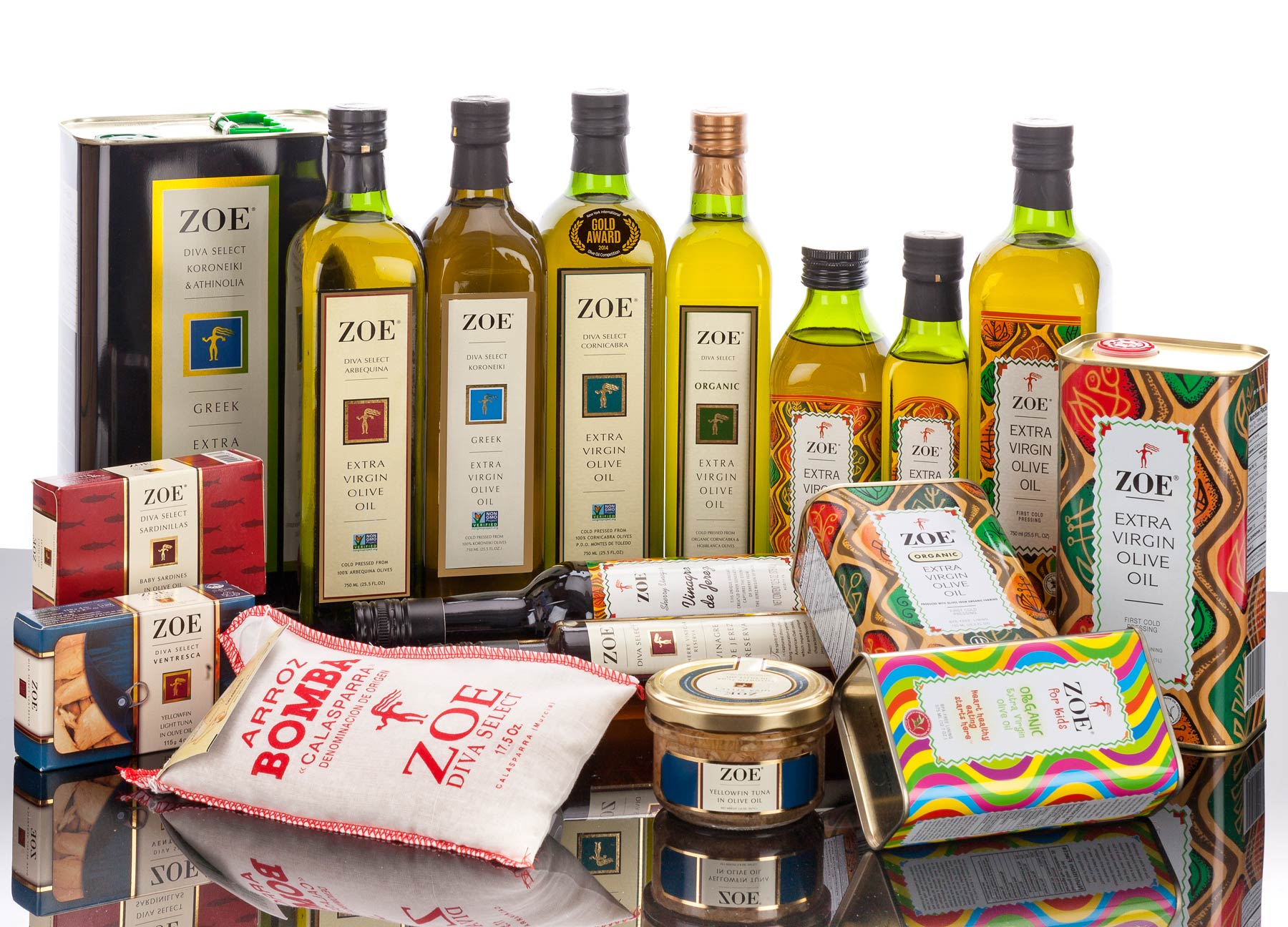 Our Products | Browse our vast Selection of Olive Oil, Vinegars, Rice, Tuna and now Sardinillas